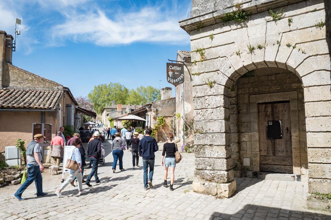 ruelles romantique de la citadelle de blaye