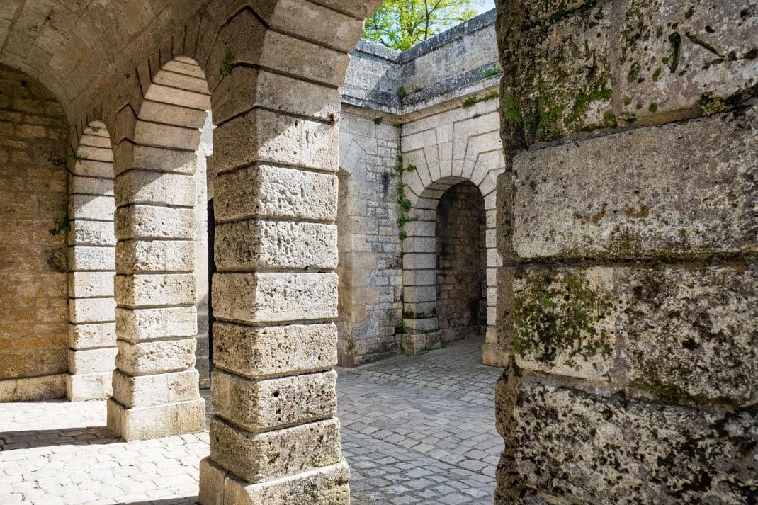 architecture de la citadelle de blaye