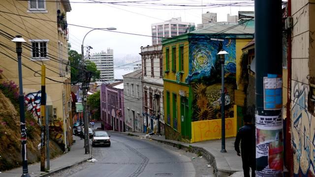 street art à valaparaiso voyage au chili