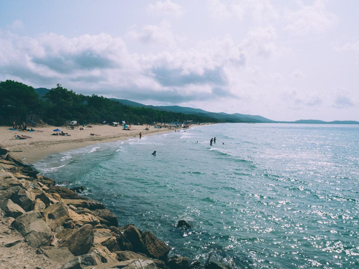 plages de toscane