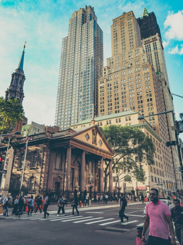 Eglise St Paul new york voyage visite financial district lower manhattan