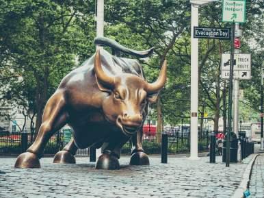 charging bull new york voyage visite financial district lower manhattan