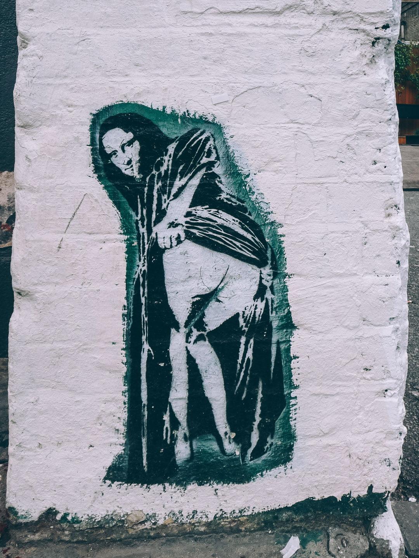 Nick Walker, oeuvre de street art à Londres