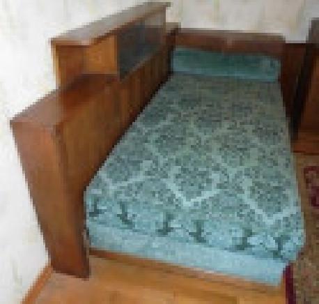divan lit cosy velours vintage art deco
