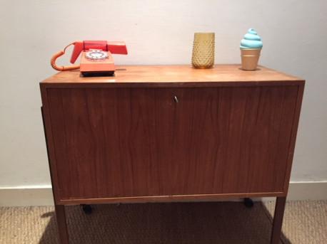 meuble bar scandinave pedersen son vintage