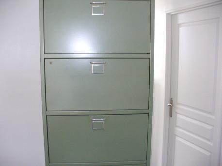 armoire metallique vintage 1950 design industriel