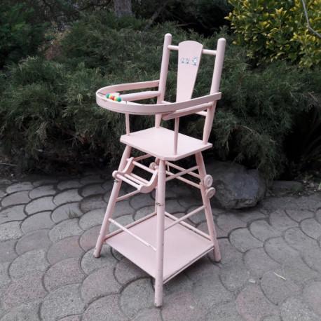 chaise de poupee vintage