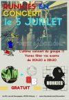 "5 Juillet 2016 Sam and The StimbleMan, Dumbass, Runkies à Orléans ""Le Petit Barcelone"""