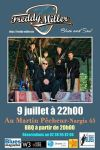 "9 juillet 2016 Freddy Miller à Nargis ""Au Martin Pêcheur"""