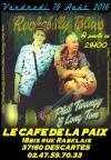 """19 aout 2016 Phil Twangy et Long Tom à Descartes """"Café de la Paix"""""""