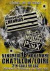 """18 novembre 2016 Magical Mystery Punx, Les Ramoneurs de Menhirs à Chatillon Sur Loire """"Salle du CSC"""""""