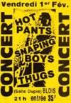 """1er Février 1985 les Thugs, les Hot Pants, Snapping Boys à Vienne """"Salle Dupré"""""""