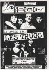 """18 Avril 1991 Les Thugs, kid Pharaon à Paris """"Elysée Montmartre"""""""
