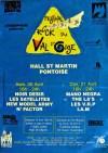 "21 Avril 1991 I'am, VRP, The La's, Mano Negra à Pontoise ""Hall St-Martin"""