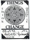 "3 septembre 1992 Things Change à Angers ""Rockmania"""