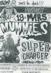 """19 mars 1993 The Mummies, Supercharger à Issy Les Moulineaux """"le Farenheit"""""""
