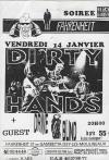 """14 janvier 1994 Drive Blind, Dirty Hands à Issy les Moulineaux """"le Farenheit"""""""