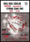 """24 septembre 2015 Strong Come Ons, Guili Guili Goulag à Orléans """"5ème Avenue"""""""
