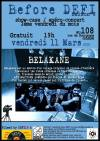 "11 mars 2016 Belakane à Orléans ""le 108"""