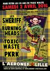 """2 Avril 2016 Toxic Waste, PKRK, Burning Heads, les Sheriff à Lille """"Aeronef"""""""