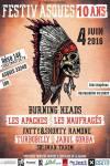 4 Juin 2016 Soliman Taxim, Turbobilly, Jabul Gorba, Fatty & Shorty Ramone, Les Apaches, Les Naufragés, Burning Heads à Asques