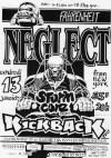 """13 janvier 1995 Stormcore, Kickback, Neglect à Issy les Moulineaux """"le Farenheit"""""""