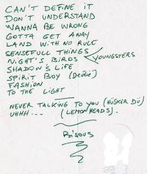 1991_05_17_Z2_ThompsonRollets_Setlist