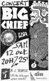 """12 octobre 1991 Big Chief à Orléans """"l'Impasse"""""""