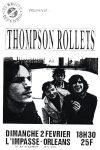 """2 février 1992 Thompson Rollets à Orléans """"l'impasse"""""""