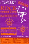 """22 mai 1992 Les Sherpas, Miners Of Muzo, Los Mescaleros à Saran """"Salle des Fêtes"""""""