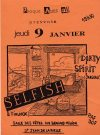 """9 janvier 1997 Dirty Spirit, Selfish à Saint Jean de la Ruelle """"Salle des Fêtes"""""""