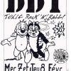 """8 fevrier 1990 DDT à Tours """"Aux 3 orfèvres"""""""