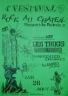 28 aout 1993 Les Raoul's j'te pousse, Shredded Ermines, Cosmic Psychos, Les Thugs à Nogent le Rotrou