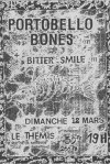 "12 mars 1995 Bitter Smile, Portobello Bones à Lilles ""le Themis"""