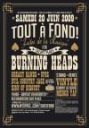 "20 juin 2009 Sign Of Disgust, Evil Country Jack, UFOS, Greasy Hands, Burning Heads à Saint Jean de Vedas ""Secret Place"""