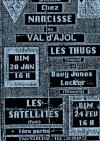 """20 janvier 1991 Davy Jones Locker, Les Thugs à Val d'Ajol """"Chez Narcisse"""""""