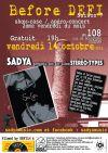 """14 Octobre 2016 Sadya à Orléans """"le 108"""""""