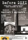 """9 septembre 2016 Ditzy à Orléans """"le 108"""""""