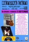 """11 septembre 2015 Octavie à Orléans """"le 108"""""""