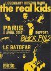 "11 avril 2017 Black Pills, Real Kids à Paris ""Batofar"""