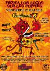 12 mai 2017 Goulamas'k, Radio Bistrot, Selecta Chango Loco, Pogo Car Crash Control, Lion's Law, Burning Heads, Soviet Suprem, Les Wampas, Mass Hysteria à Vitry Sur Seine