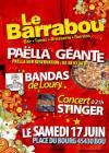 """17 juin 2017 Stinger à Bou """"Barabou"""""""