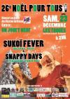 """23 decembre 2017 Snappy Days, Sukoi Fever à Périgueux """"le Toqués"""""""