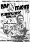"""17 février 2018 LPDB, Brigitte Bop, Ultrabernard à Chatillon Sur Loire """"Salle du CSC"""""""