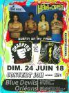 """24 juin 2018 Sharpers, Rnc's, Hard Ons à Orleans """"Blue Devils"""""""