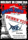 "31 juillet 2018 Informal Society, Swimmin' Poor, Trashley à Montreuil ""la Comedia"""