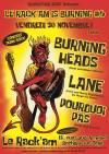 """30 novembre 2018 Burning Heads, Lane, Pourquoi Pas à Bretigny Sur Orge """"le Rack'am"""""""
