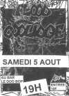 "5 aout 1995 Flood, Coolidge au Havre ""Bar le Doo Bop"""