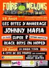 18 aout 2018 Les Bites d'Amarrage, Johnny Mafia, Super 8, Black Boys On Moped à Saint Symphorien