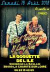 """18 aout 2018 Phil Twangy & Long Tom à La Charité Sur Loire """"la Goguette"""""""